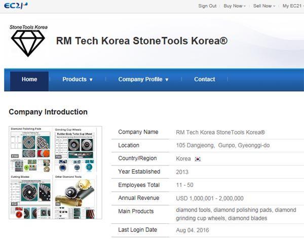 Diamond Tools; Polishing Pads, Grinding Cup Wheels & Blades made by RM Tech…