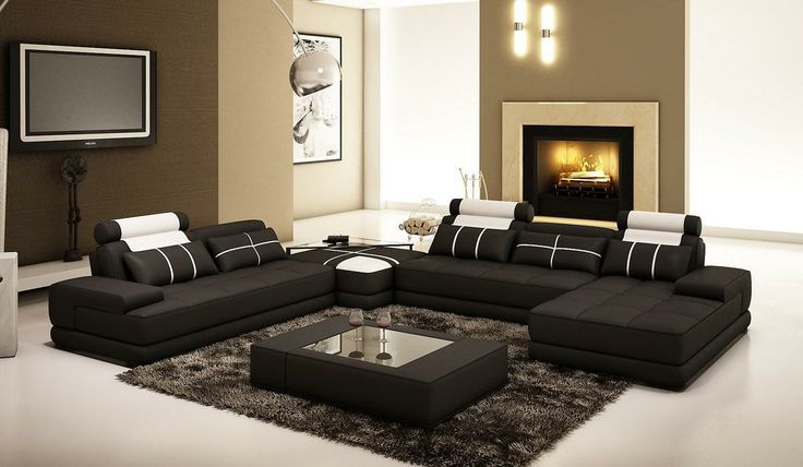 Best 25 White Leather Sectionals Ideas On Pinterest
