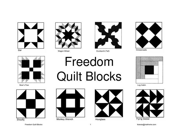 177 Best Underground Railroad Quilt Blocks Images On Pinterest