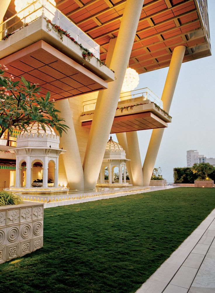 """It's a modern home but with an Indian heart,"" Nita Ambani remarks. ""Getting my temple right was so important."""