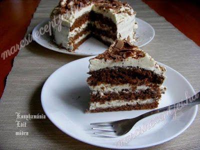 Receptek, és hasznos cikkek oldala: Kávés-mascarponés tiramisu torta