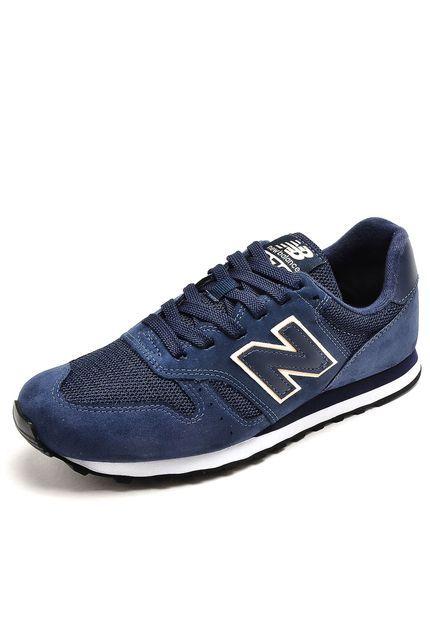 Tênis New Balance 373 Azul-Marinho - Marca New Balance