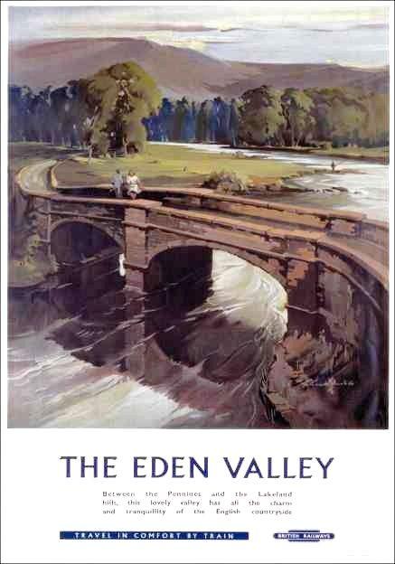 The Eden Valley : Travel in Comfort by Train . British Railways.