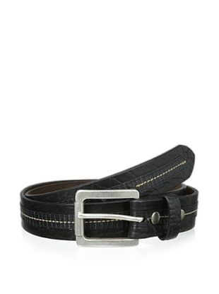 55% OFF Vintage Bison Men's Loretto Belt (Black)
