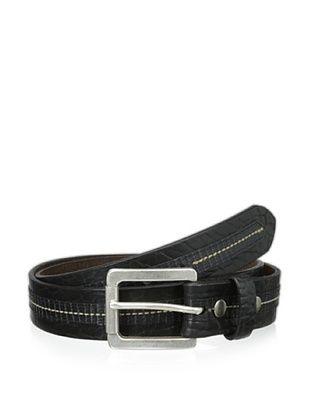 55% OFF Vintage Bison Men's Loretto Belt (Black)