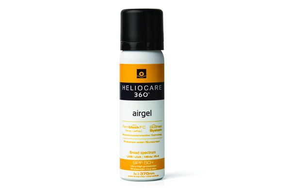 Protect the skin from UVA/UVB damage as well as defending it against IR-A radiation and Visible Light with the new Heliocare 360° Airgel SPF 50+.
