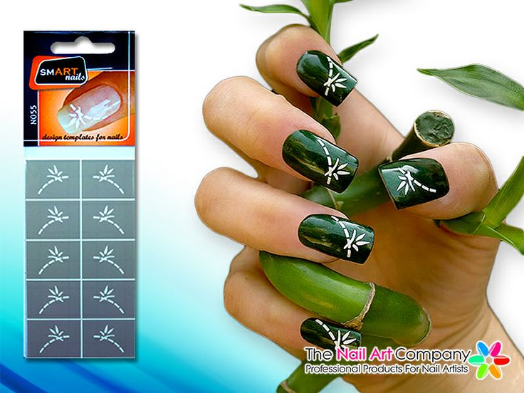 67 best smart nails nail art stencils images on pinterest nail smart nails bamboo nail art stencil set n055 prinsesfo Images