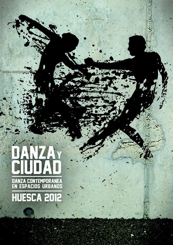 Danza y Ciudad. © 2012 Veintiocho Estudio Creativo. #cartel #ilustracion #poster #illustration #veintiocho