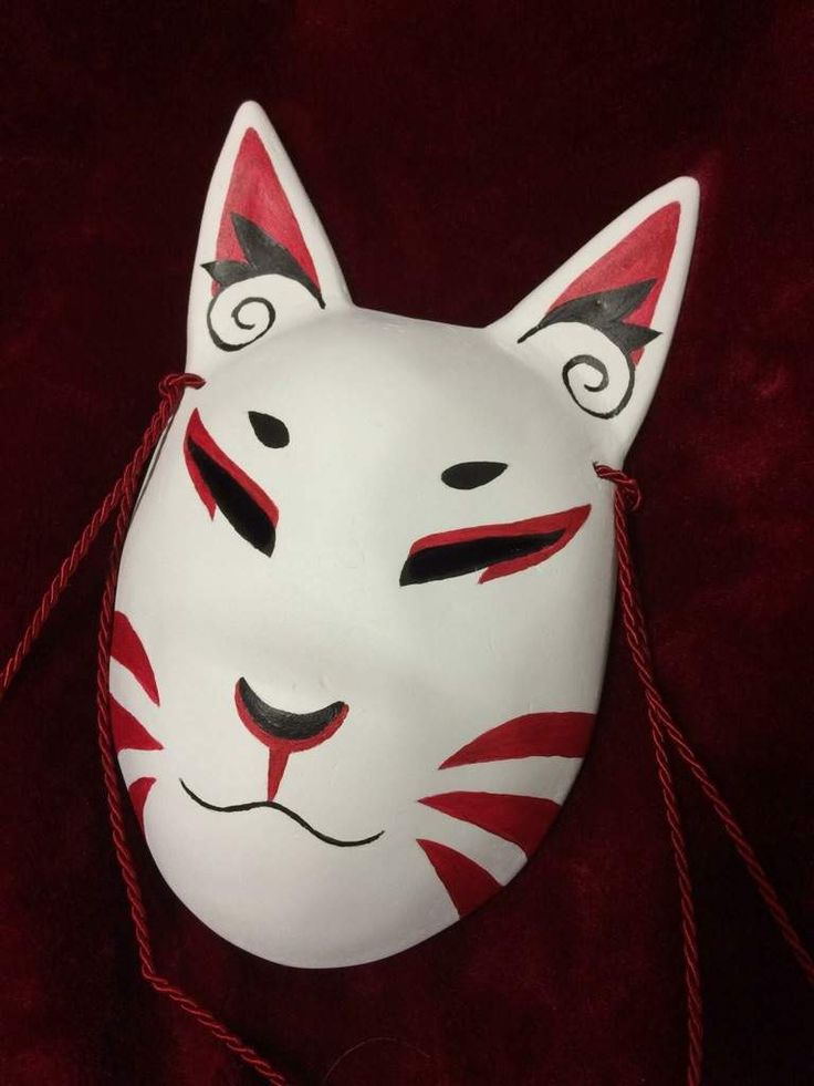 Hey guys! I'm gonna show you how I made a fox mask that I wore with my original design of Bloodmoon ...