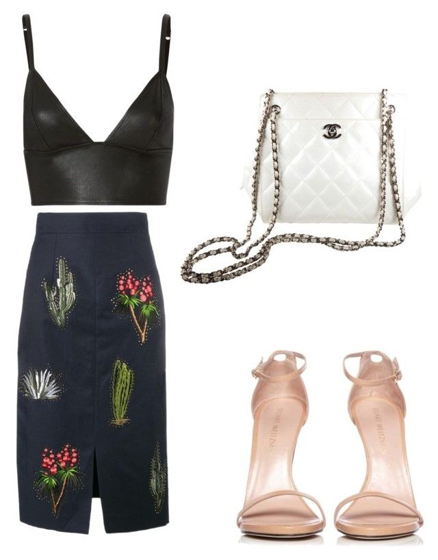 """""""Spring"""" by saryr on Polyvore featuring mode, STELLA McCARTNEY, T By Alexander Wang, Stuart Weitzman et Chanel"""