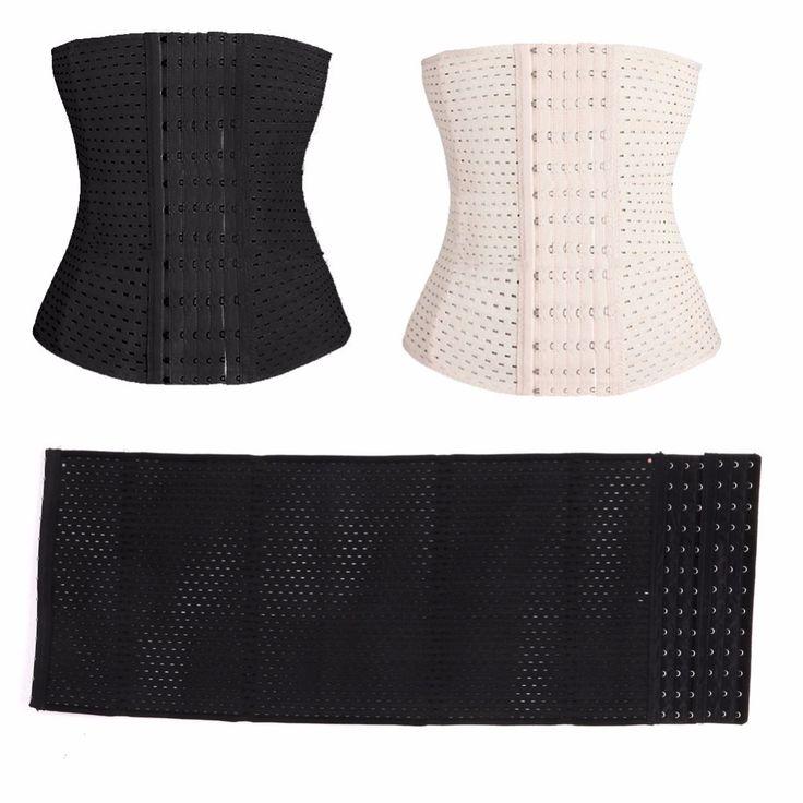 Shapewear taille korsetts schwarz taille shaper korsett hot former für postpartale frauen abnehmen body shaper plus größe
