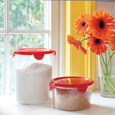 1000 Ideas About Flour Container On Pinterest Food