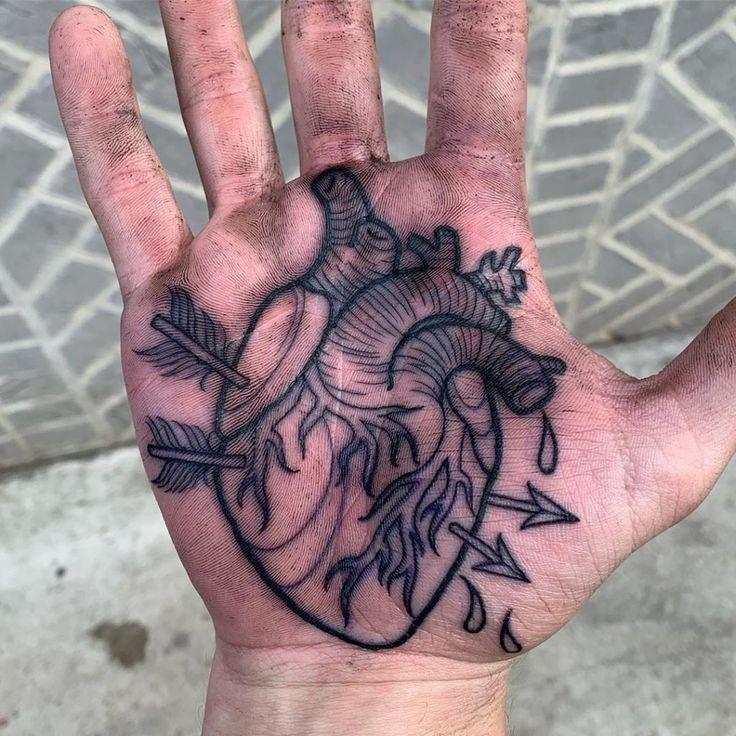 Handflächen Tattoos: Ja? Nein? Vielleicht? | Hand tattoos