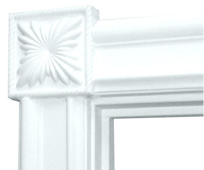 Fluted Door Casing Door Casing Kits Trim Door Trim Molding Door Trim With Corner Blocks Home Depot Exterior Door Frame Kit Fluted D Home Furnishings Decor Home