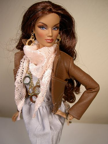 Korrine Fashion Royalty | Wearing Tess-Creations | Flickr