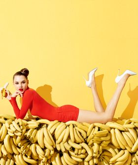 Terry Richardson Shoots Aldo's Ode To Summer (Bananas Are Involved): S/S 2012 Fashion Ad Campaign