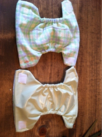 Crafted by mama: Diapers for Baby Alive, Need to start making these for tay and gracelynds babies!!!!!