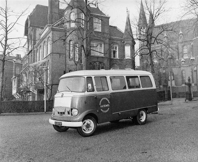 Mercedes bus 1959 Foto's uit de oude doos - AutoWeek.nl