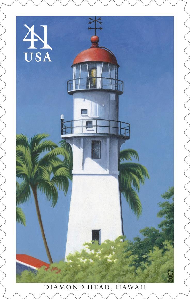 #Lighthouse Postage Stame - Filatelia #Faros USA 2007 http://www.roanokemyhomesweethome.com