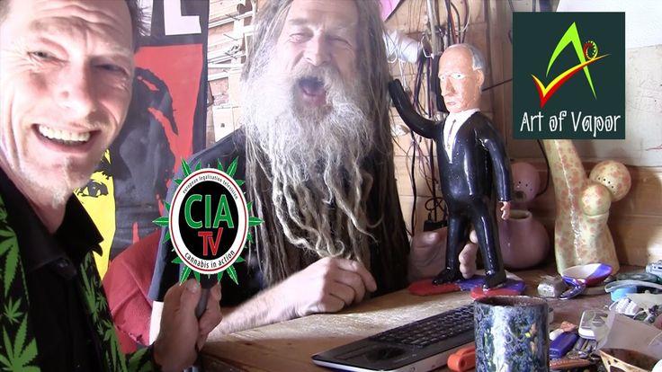 "CIA-TV° vaporisiert ""the Art of Vapor"" mit Donald & Felix Denzler"