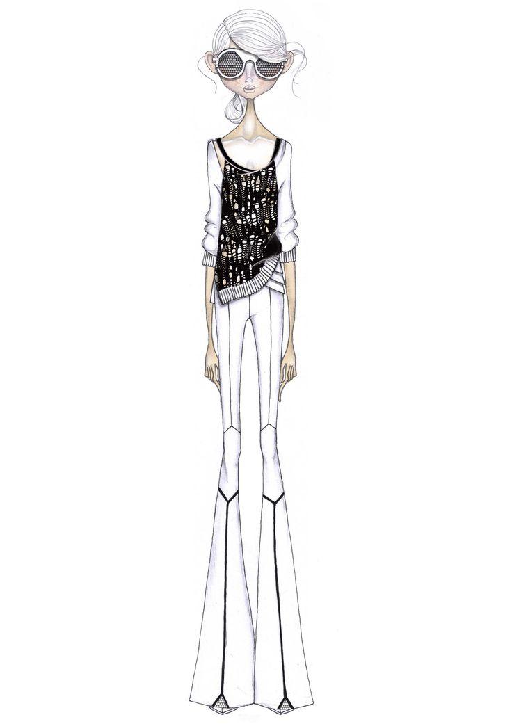 811 best Fashion Illustration images on Pinterest ...