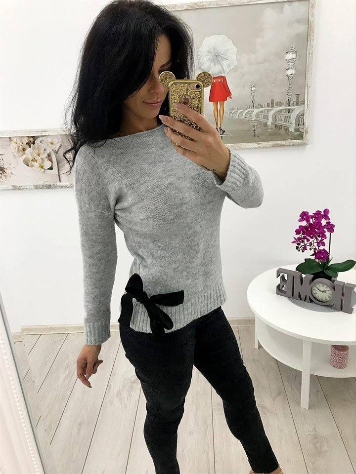 Sweterek z kokardką 💕💕💕 Link do produktu: http://bit.ly/2xA30vC Stylistka Sara <3