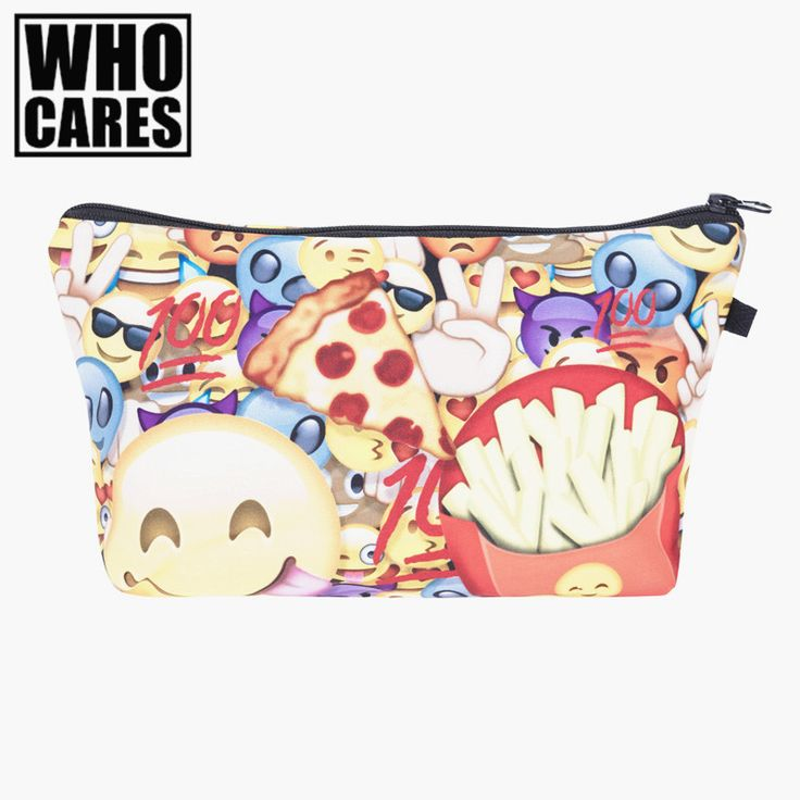 women cosmetic bags travel Picture - More Detailed Picture about Emoji delicious Printing Necessaire Women Cosmetics Bags Travel Make up Bag Organizer Maleta de Maquiagem Organizador Makeup Bag Picture in Cosmetic Bags & Cases from who cares luggage & bags store | Aliexpress.com | Alibaba Group