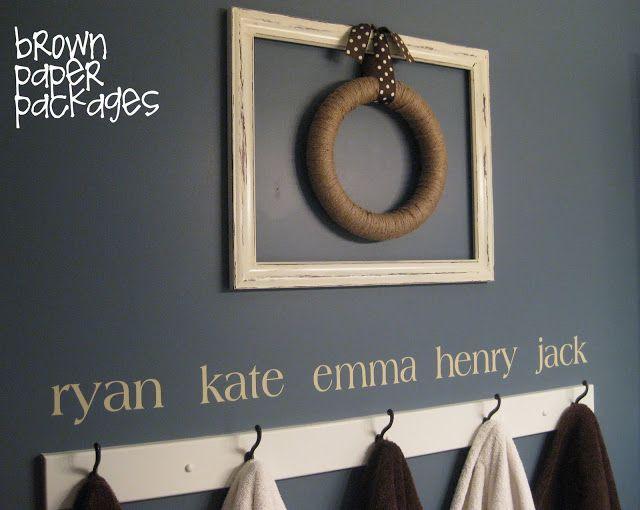 {framed twine wreath} - Simply Kierste