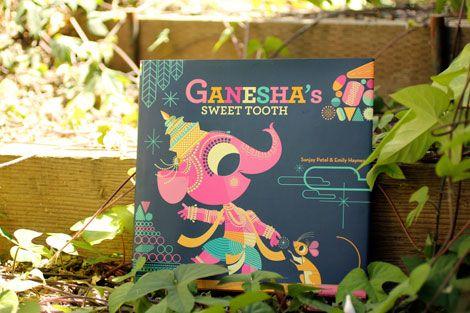 Chronicle Books - Ganesha's Sweet Tooth: Pattern, Color Combos, Sweet Tooth, Ganesha Sweet, Color Color