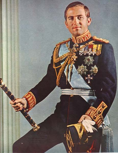 King Constantine II of Greece