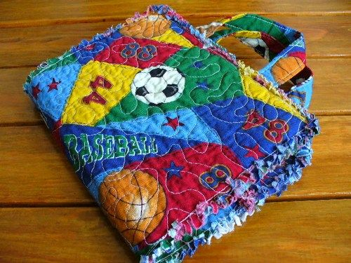 Quilted Paperback Book Cover Pattern : Best images about sports quilts on pinterest football