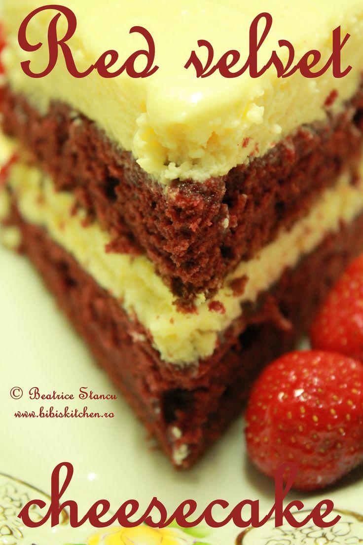 Red velvet cheesecake | Bibi's Kitchen