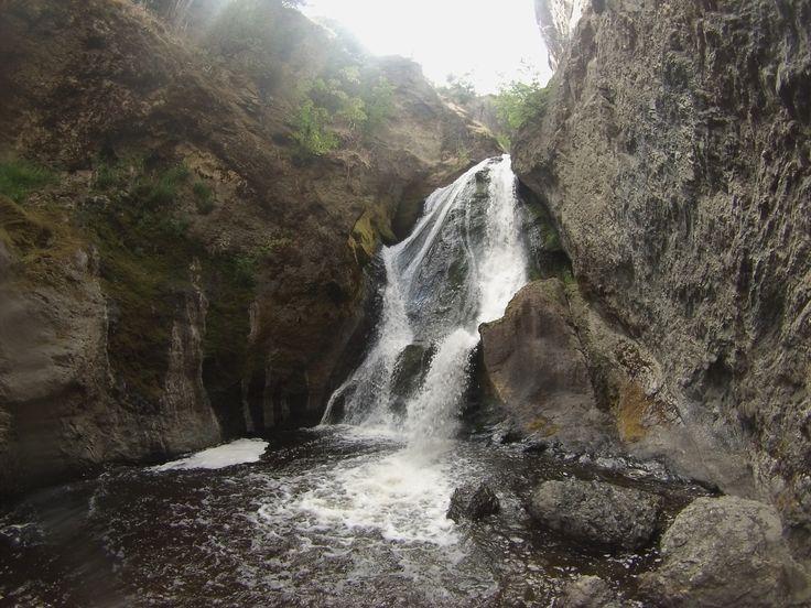Bear Creek provincial park waterfall.  There's a secret way to get to it. www.siestasuiteskelowna.com