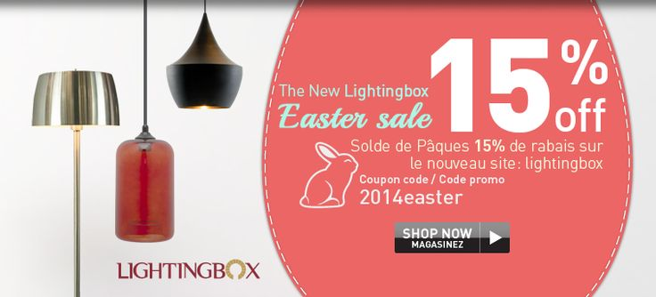 The New Lightingbox Easter sale