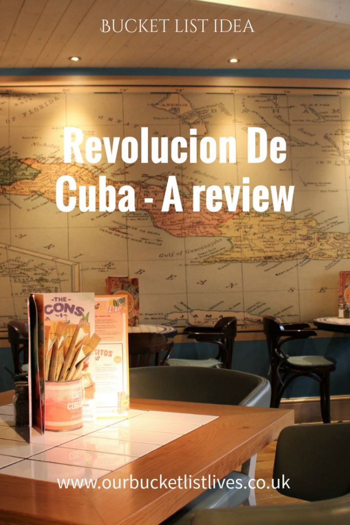 Revolucion de Cuba Nottingham – Lunch and kids menu blog review. Part of our family bucket list to eat at as many different cuisine restaurants as possible.