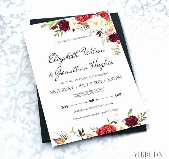 Target Wedding Invitation Kits Beautiful 91 Tar Wedding Invitations Wedding Invitations Printable Templates Wedding Card Diy Wedding Invitations Diy Rustic