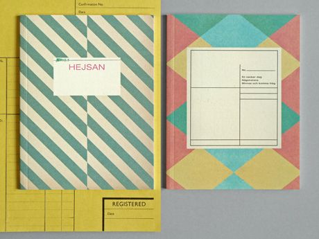 Diamond & Stripe NotesPattern, D Graphics