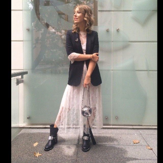 Ксения Собчак - обсуждение её стиля.