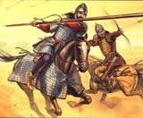 (05) 479 – Ambrosio Aureliano se convierte en Rey de los Britones. Gobierna el sur de Gran Bretaña y lucha contra los anglosajones. Algunos estudiosos han especulado sobre la posibilidad de que fuera el líder en la Batalla del Monte Badon, por lo que podría ser la base histórica del rey Arturo.