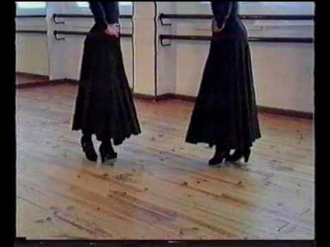 ▷ Cuarta sevillana ( Paso a Paso) - YouTube   Honeys da flamenca ...