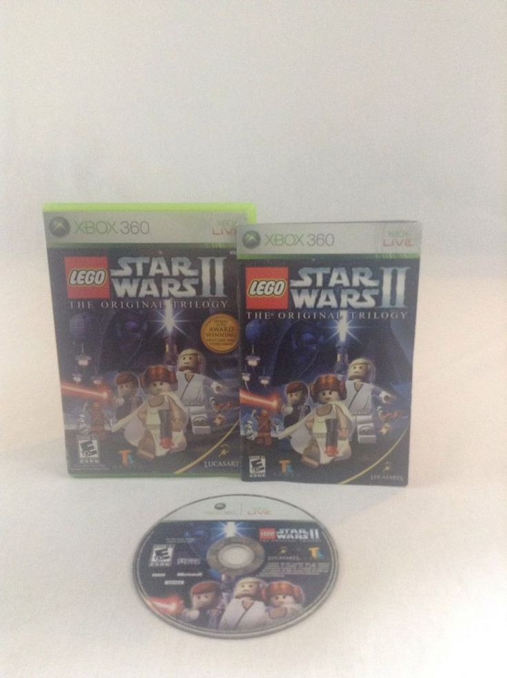 2006 Tested & Working Xbox 360 Lego Star Wars The Original Trilogy Video Game #Xbox360