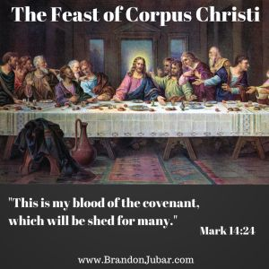 "Mom said, ""You eat mac-n-cheese so much, you're going to turn into it!"" If we are what we eat, then the Feast of Corpus Christi means we can become Christ!"