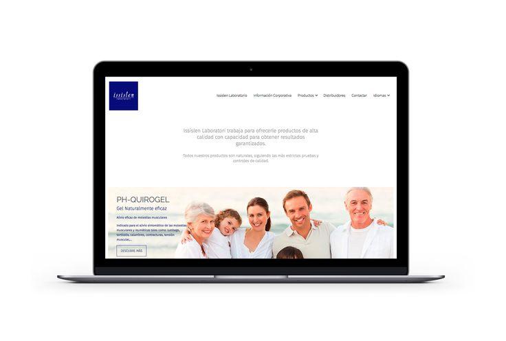 Website realizado por @loopcomunicacio para Issislen Laboratori. Nos hemos encargado del diseño UI y UX, dirección de arte y su programación. Puedes visitar la web en www.issislen.com #loopcomunicacio #loopcreativo #graphicdesign #diseñografico #dissenygrafic #web #webdesign