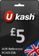 £5 Ukash GBP - Don't worry if you're not sure how much to get. If your Ukash code is more than the value of the purchase you'll receive any change as a new code to use the next time you shop. Follow below link http://www.pcgamesupply.com/buy/5-Ukash-GBP/