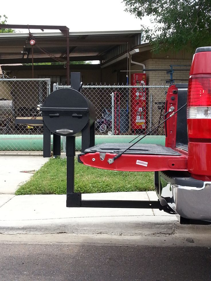 2 Ball Hitch >> BBQ PIT MODEL 12 Made by Backyard Grills Laredo Texas | Bbq pit, Bbq, Welding projects