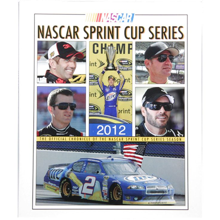 The Official Chronicle of the 2012 NASCAR Sprint Cup Series Season Book - $12.34
