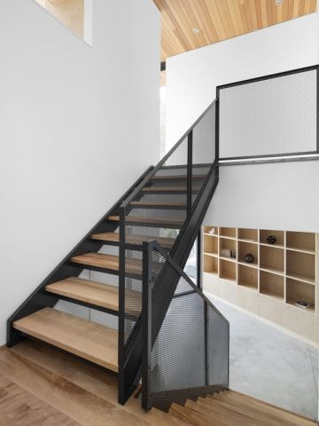 Un escalier aérien