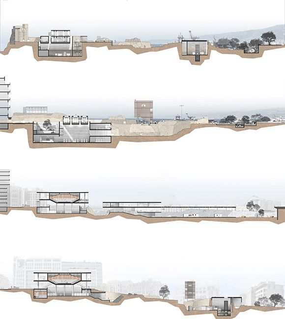 Architecture, Archaeology and Beirut: A Scenario for a Dialogue by Antoine Atallah at the American University of Beirut, 2011 on ARCHILEB - the lebanese architecture portal