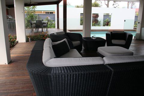 Cane-line has been active in the contract market for many years and has supplied exterior furniture for numerous hotels, restaurants, cruise ships and other public places around the world.