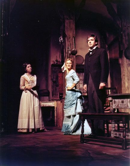 Miss Julie by August Strindberg.  Here is the amazing (YOUNG) Meryl Streep in the production at Vassar College 1969.  Love Strindberg!  Even though the majority of his plays were written while on cocaine.